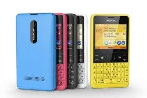 Nokia Asha 210 với nhiều màu sắc đa dạng